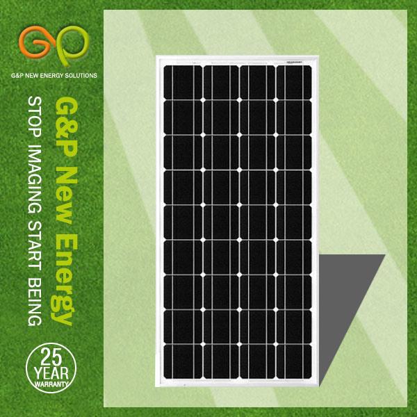 Gp 100W High Efficiency Solar Panel with Black Frame