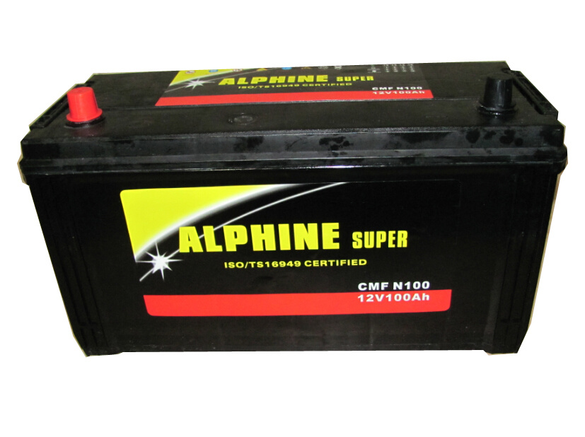 Mf Car Battery/N100 12V100ah JIS Standard Battery