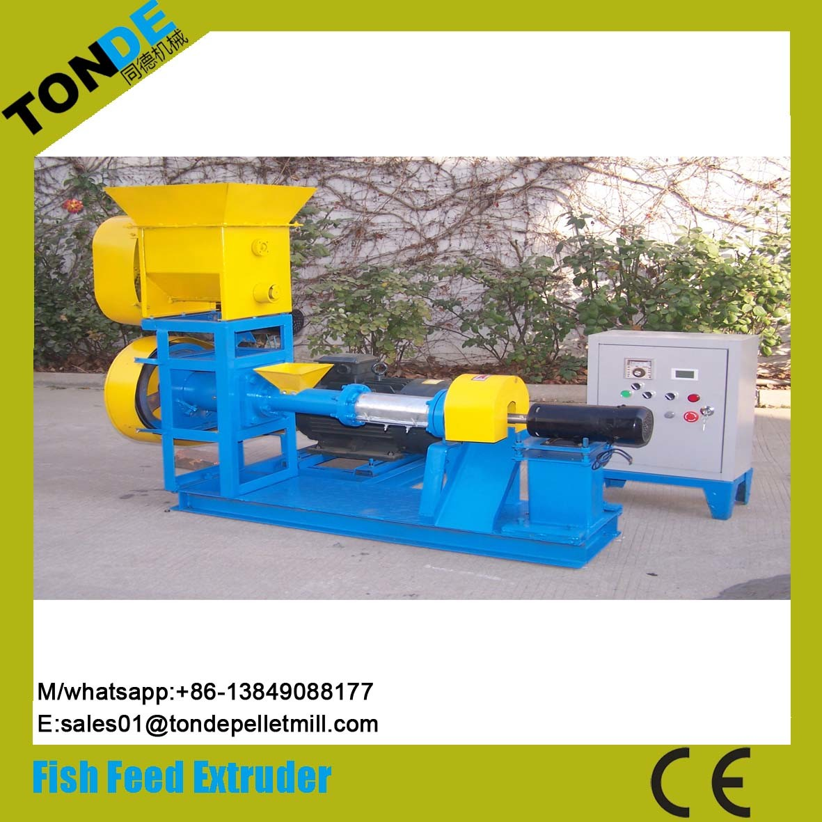 Ce Automatic Pet Dog Feed Pellet Production Machine Line