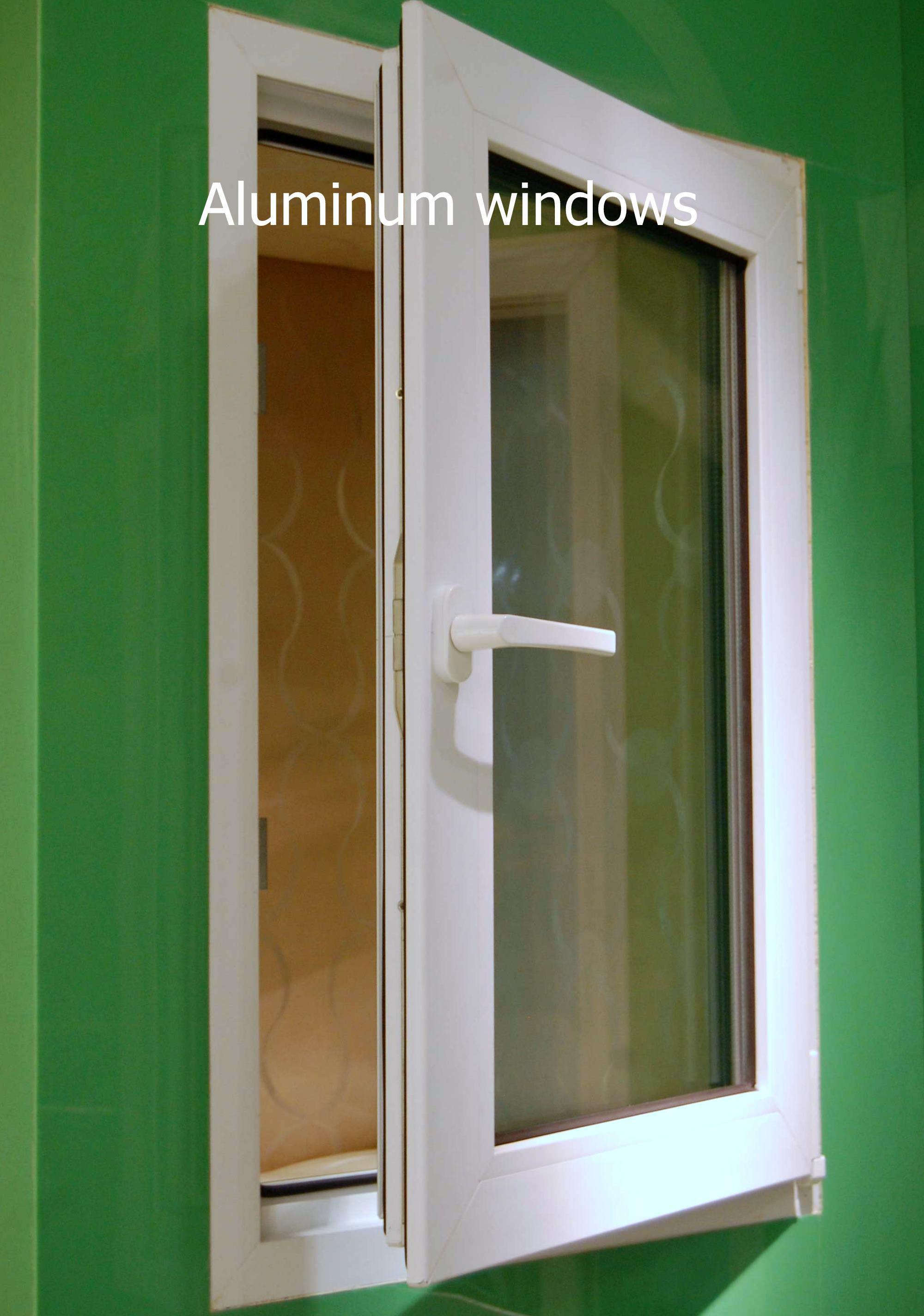 Single casement windows - Import Aluminium Single Style Casement Windows