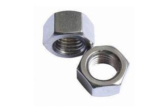 DIN934 M3-M100 Yellow Zinc Plated Hex Head Nut