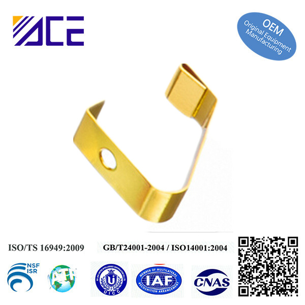 Gold Stamping and Pressure Spring Electrical Contacts