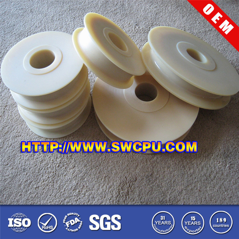 OEM Injection Moulded Nylon/ PA66 Plastic Wheel