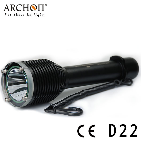 Archon W28 (D22) CREE Xm-L T6 LED Max 1000 Lumens Diving Flashlight Dive Lamp Dive Light