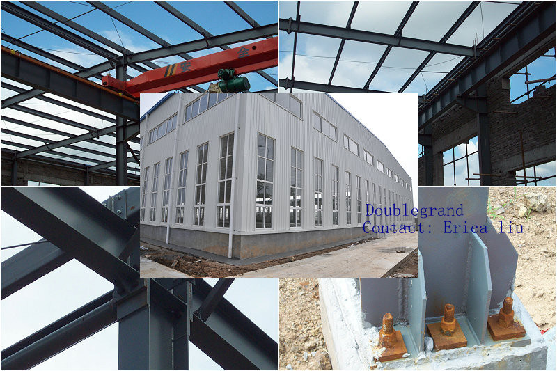 Prefabricated Steel Structure Workshop Building (DG3-024)