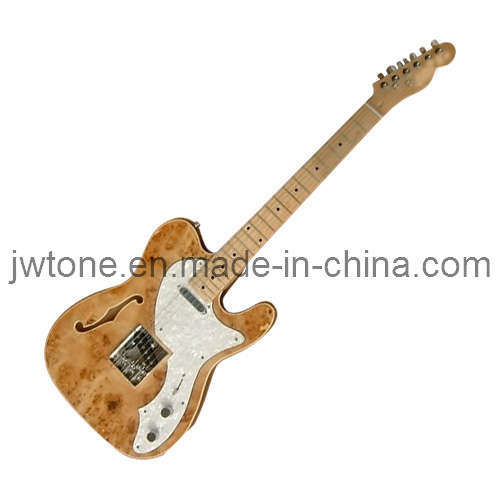 Aaaa Burlmaple Top Quality Tele Electric Guitar