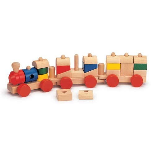 Wooden Train, Wooden Vehicle Toys, Kid Wooden Train
