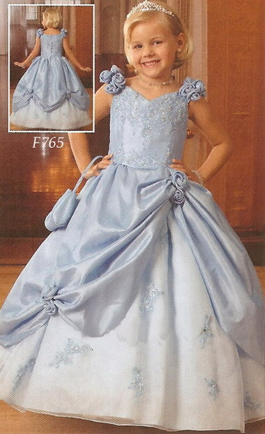 Bridal flower girls dresses bridaldresses for Little flower girl wedding dresses