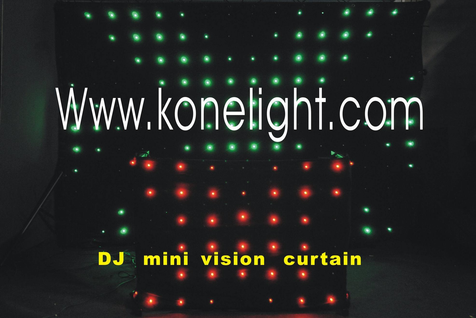 DJ Vision Curtain / Video Curtain / Wedding Backdrop Curtain - 2