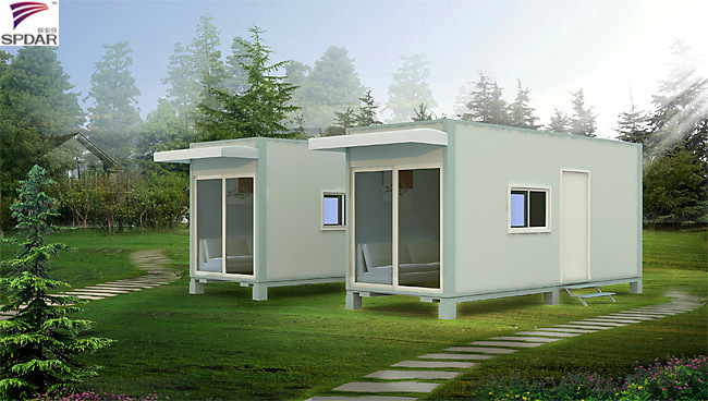 China professional low price prefab container house qg for Low cost modern homes