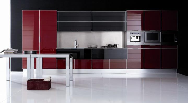 Gabinete de cocina del mdf de la laca gabinete de cocina for A z kitchen cabinets ltd