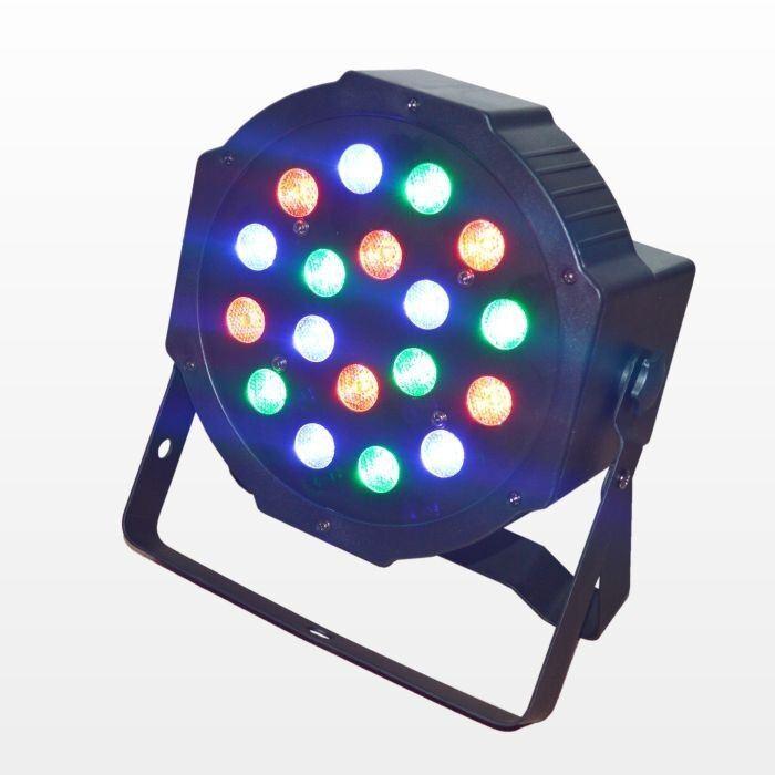 Cheap Price 18PCS 1W RGB LED Flat PAR Light