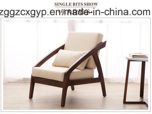 China Sing Seat Wood Frame Leisure SofaModern Furniture Cheap