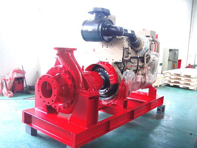 Diesel Sea Water High Pressure Fire Pump Marine Ship Safety Products