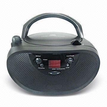 CD Boombox, Supports Analogue FM/AM (SH-BB-4A )