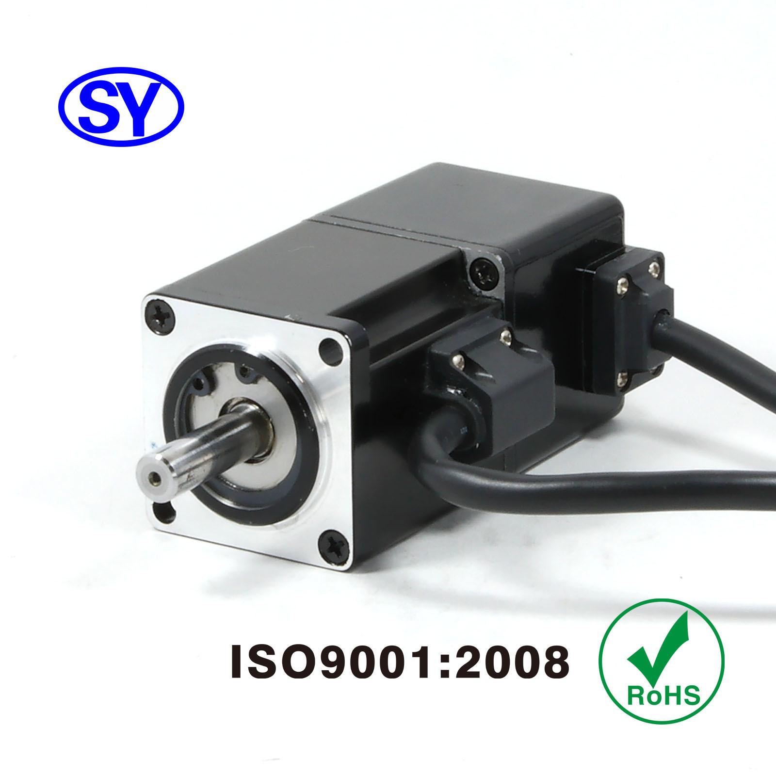 50W AC Servo Electrical Motor for Induction Machine (40SV050AB25B)