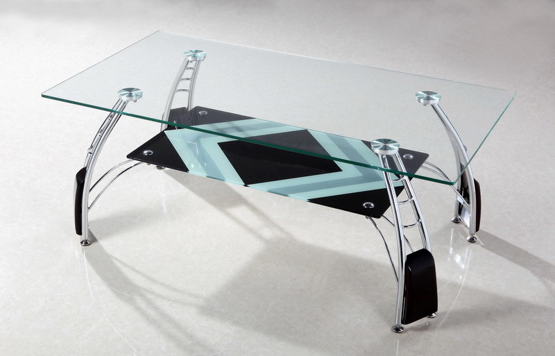 China Glass Coffee Table/Living Room Furniture/Modern Tea Table (A047E