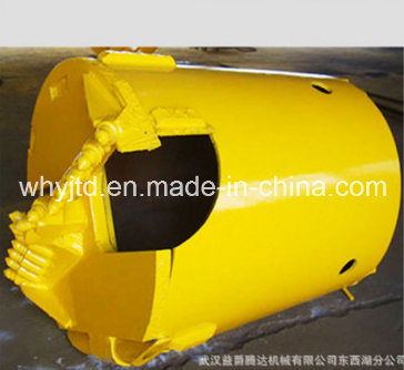 Buckets for Rock and Earth Drilling Equipment