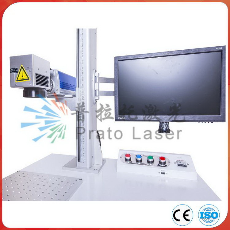 Automatic Laser Marking Machine for PVC/PPR/HDPE Pipe