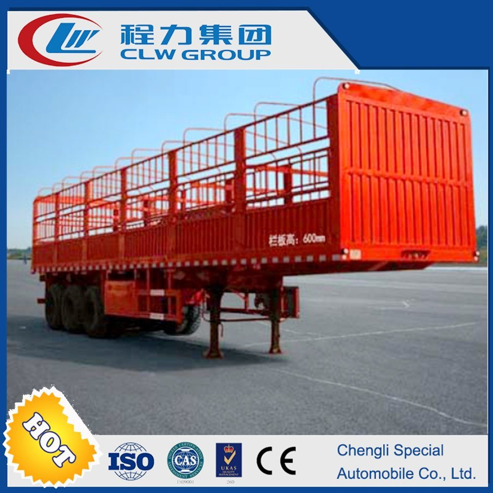Van Bin Type Cargo Semi Trailer