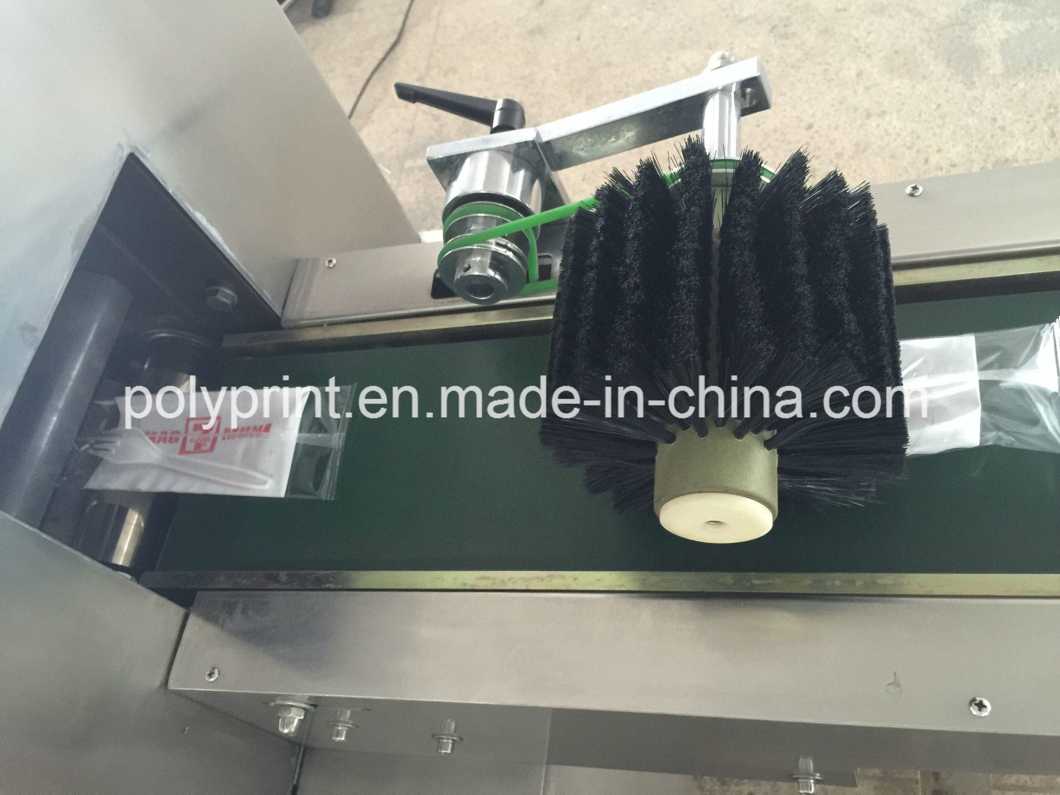 Automatic Plastic Spoon Fork Knife Packing Machine