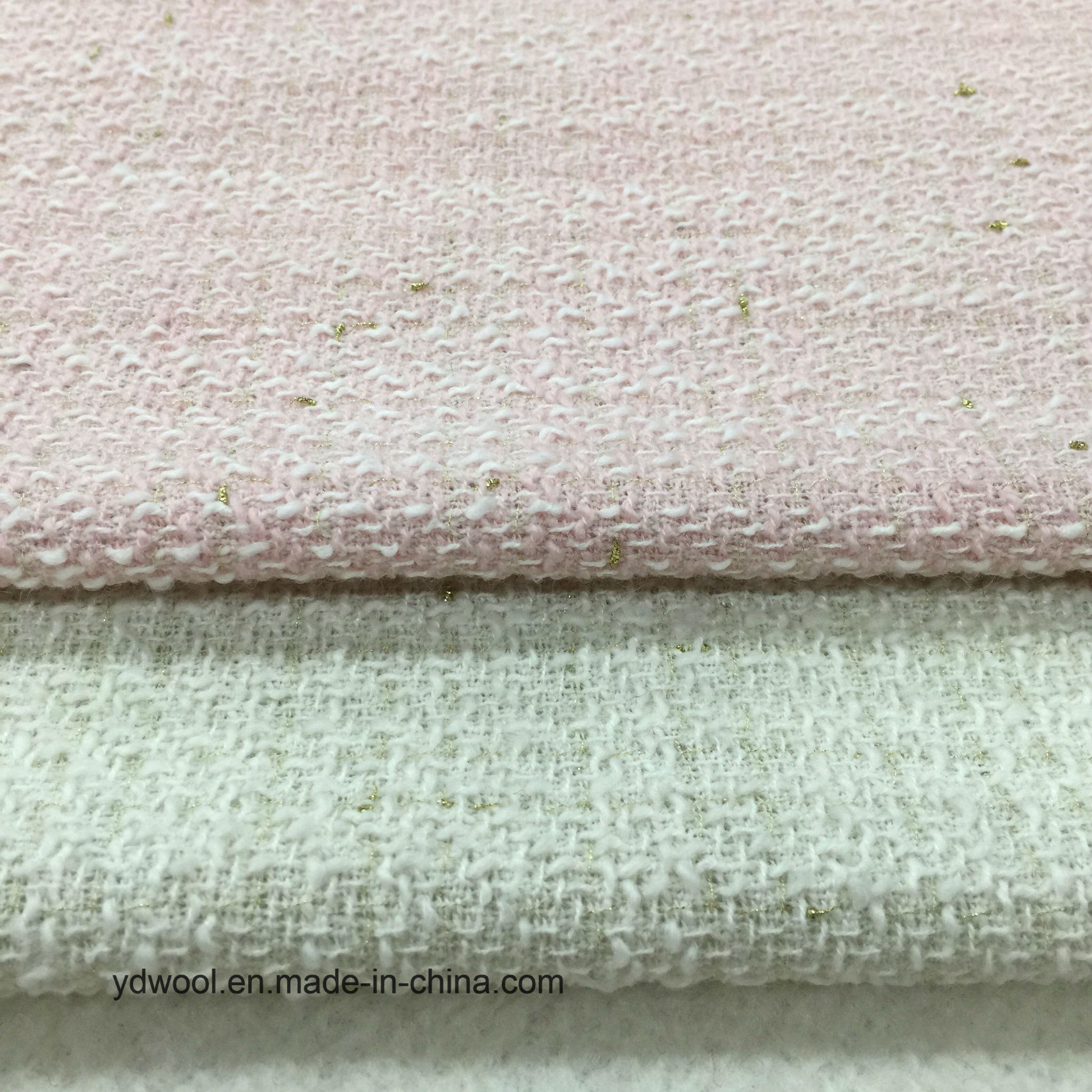 Light Kont Style Wool Fabric Stock