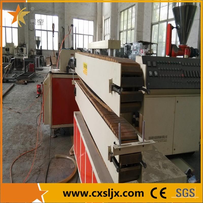 PVC Plastic Profile Ceiling Panel Extrusion Line / Extrusion Machine