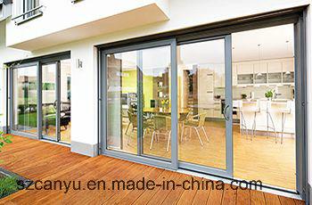 Timber Color Finished Aluminium Sliding Window & Door