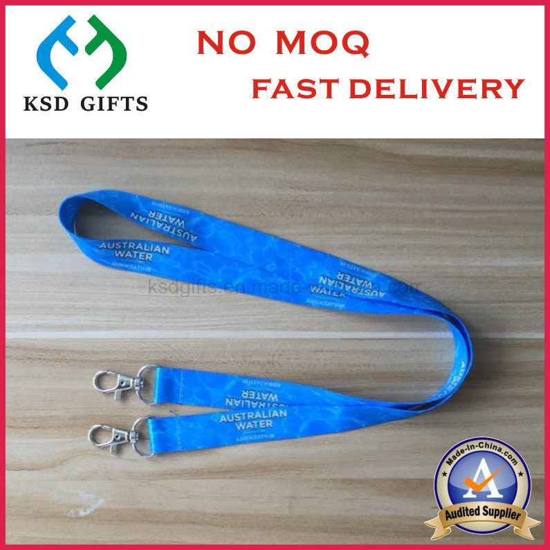 Promotional Custom Made Neck Woven Lanyard with VIP Card