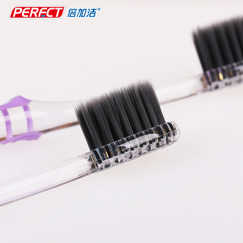 Perfect Transparent Charcoal Filament Toothbrush