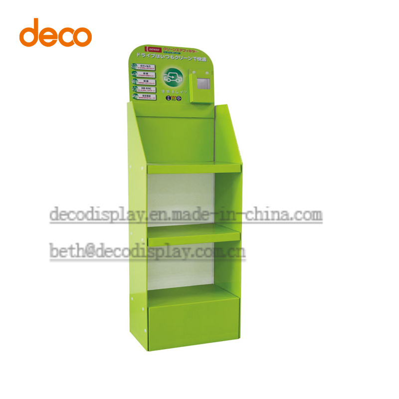 Cardboard Display Stand Store Paper Display Shelf