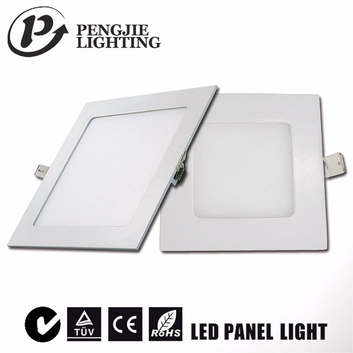 18W Slim Aluminum LED Panel Light for Home Ceiling Lighting