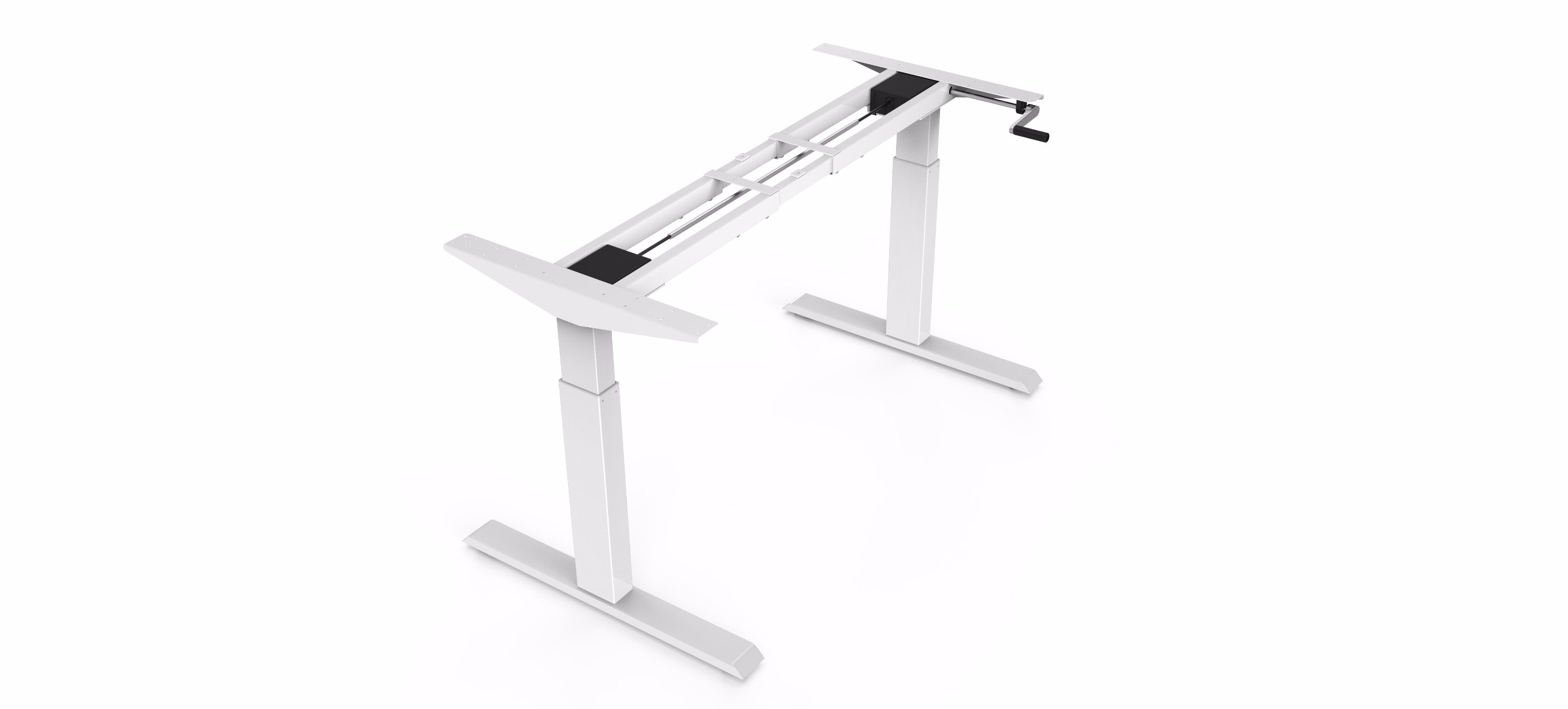 Crank Handle Height Adjustable Desk/Lift Desk/Standing Desk (HT101)