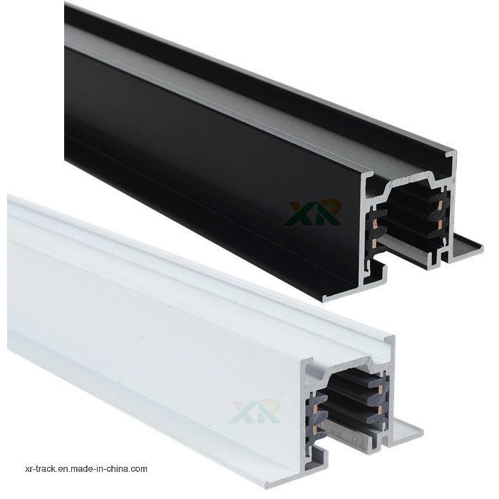 EU Standard Square Recessed Three Circuits LED Lighting Track (XR-RL510)