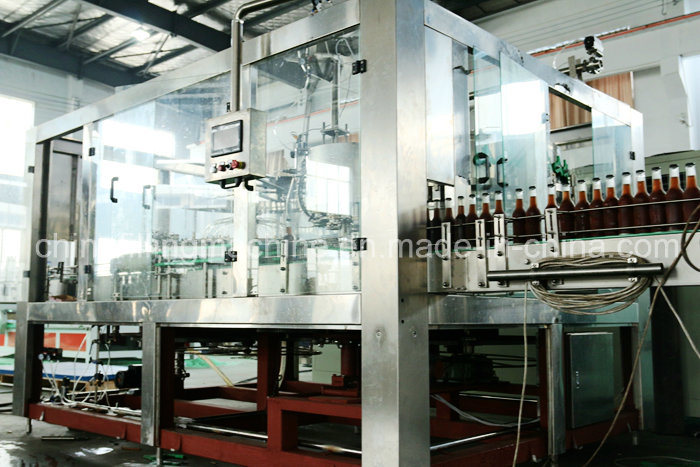 Glass Bottle Drinking Filling Machine Production Line with Ce