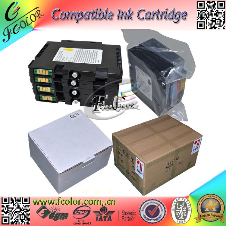 Sublimation Ink Cartridge Gc41 for Ricoh Sg3100, Sg2100, Sg2010L, Sg3110dnw Sg7100 Printer Ink