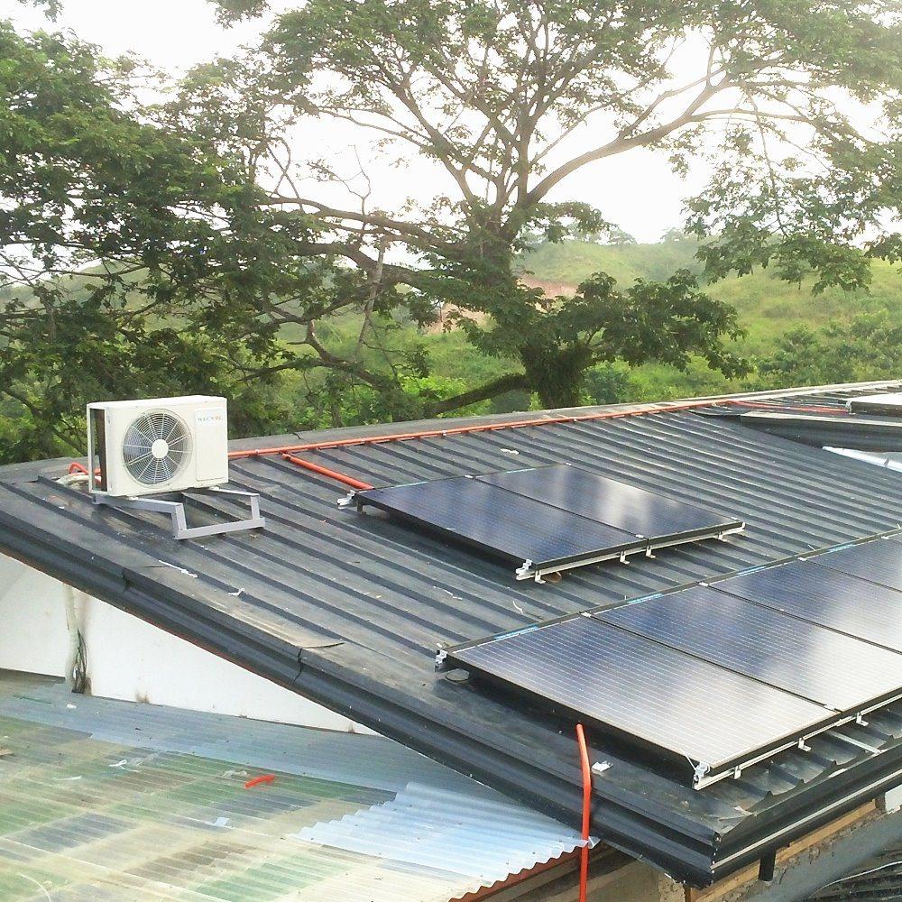 off-Grid Split DC 100% Solar Energy Power Air Conditioner