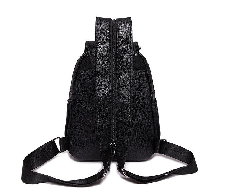 Fashion Classical Genuine Leather Backpack Sling Bag Shoulder Bag