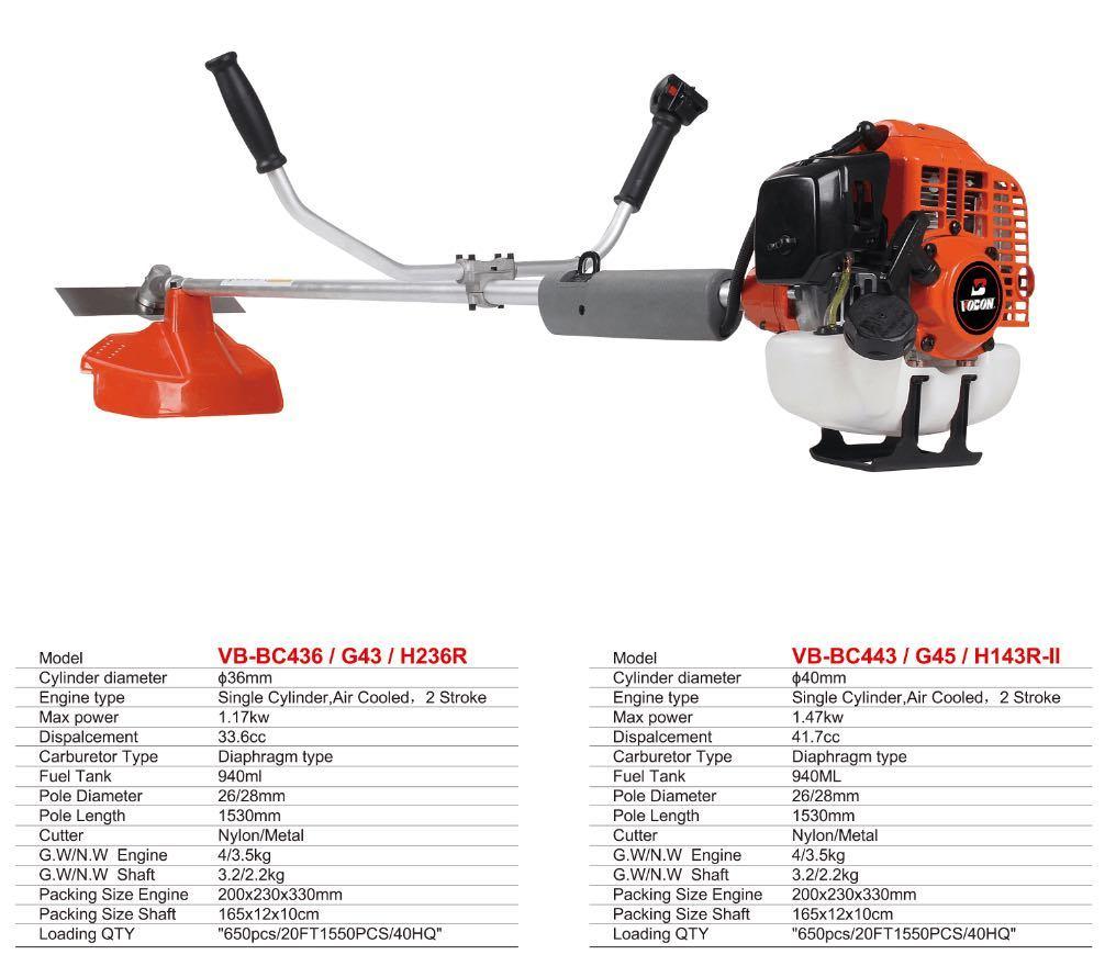 436/443/236r/G43/G45/H143r-II Brush Cutter