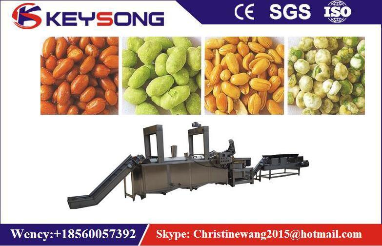 Fried Nuts Peanuts Processing Line