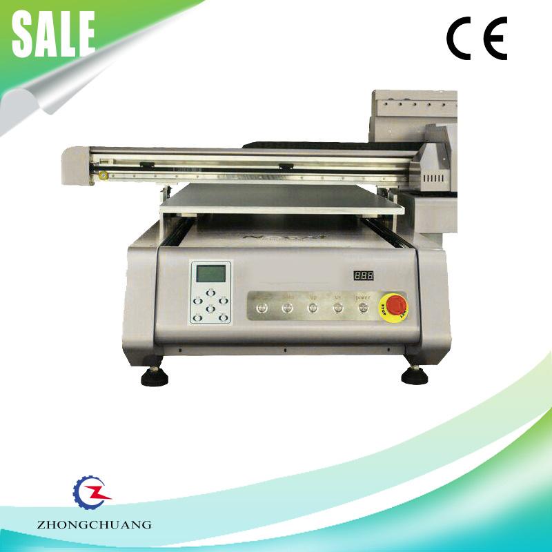 High Resolution Glass / Ceramic Digital UV Flatbed Photo Printer