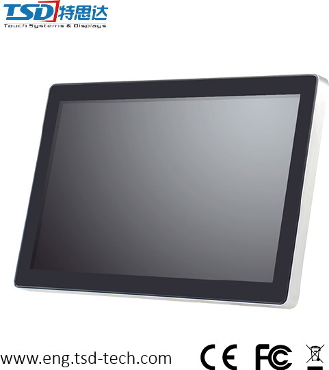 "10.1"" Pcap Touch Screen Monitor for Interactive Kiosk, 75/100mm Vesa Hole"