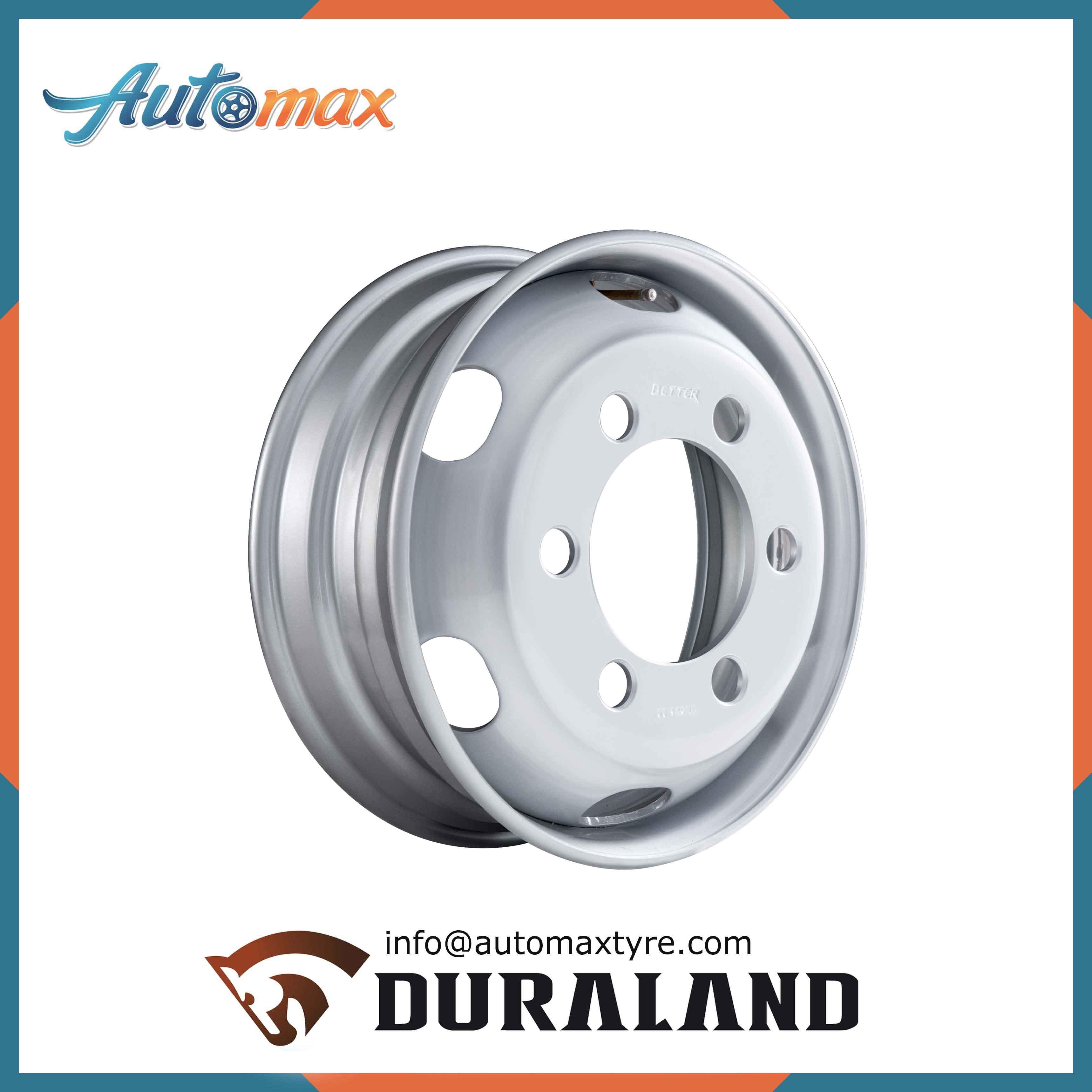 Tubeless Steel Wheel Rim for Truck Tyre