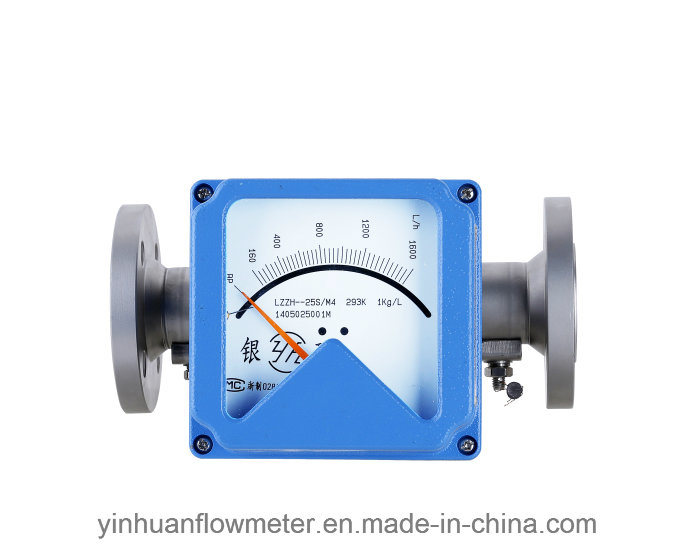 Horizontal Mounting Type Metal Tube Float Variable Area Flowmeter