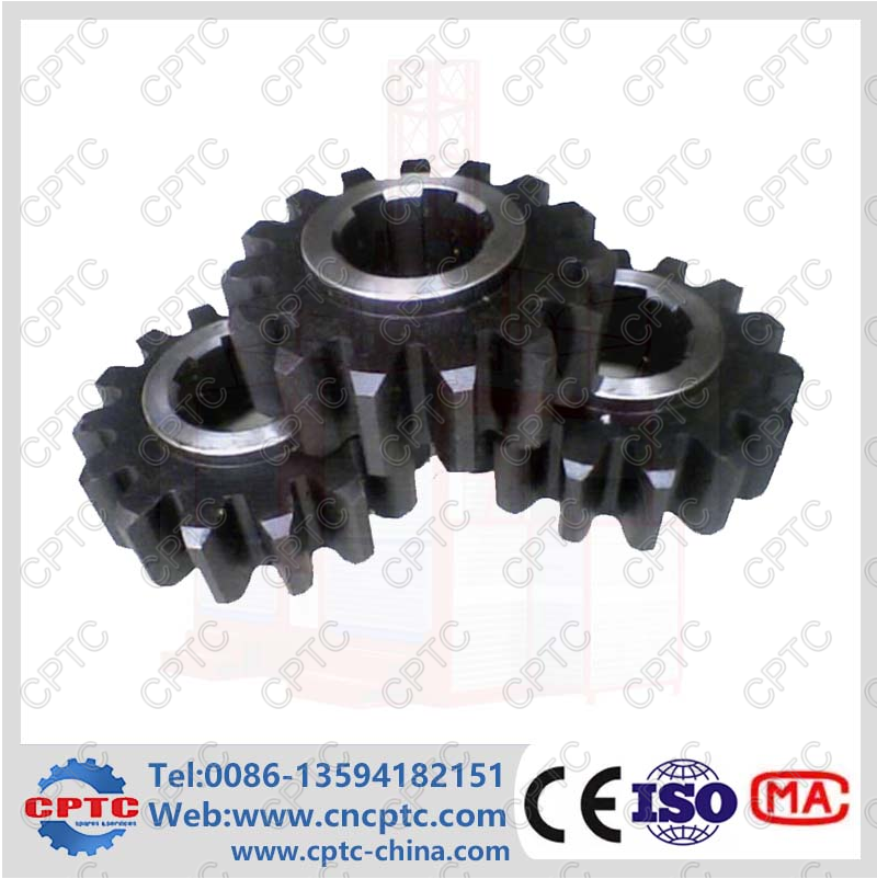 M8 C45 Steel Pinion for Construction Hoist Parts