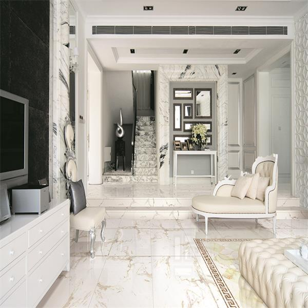 Good Quality Full Polished Glazed Floor Tile of 600X600mm