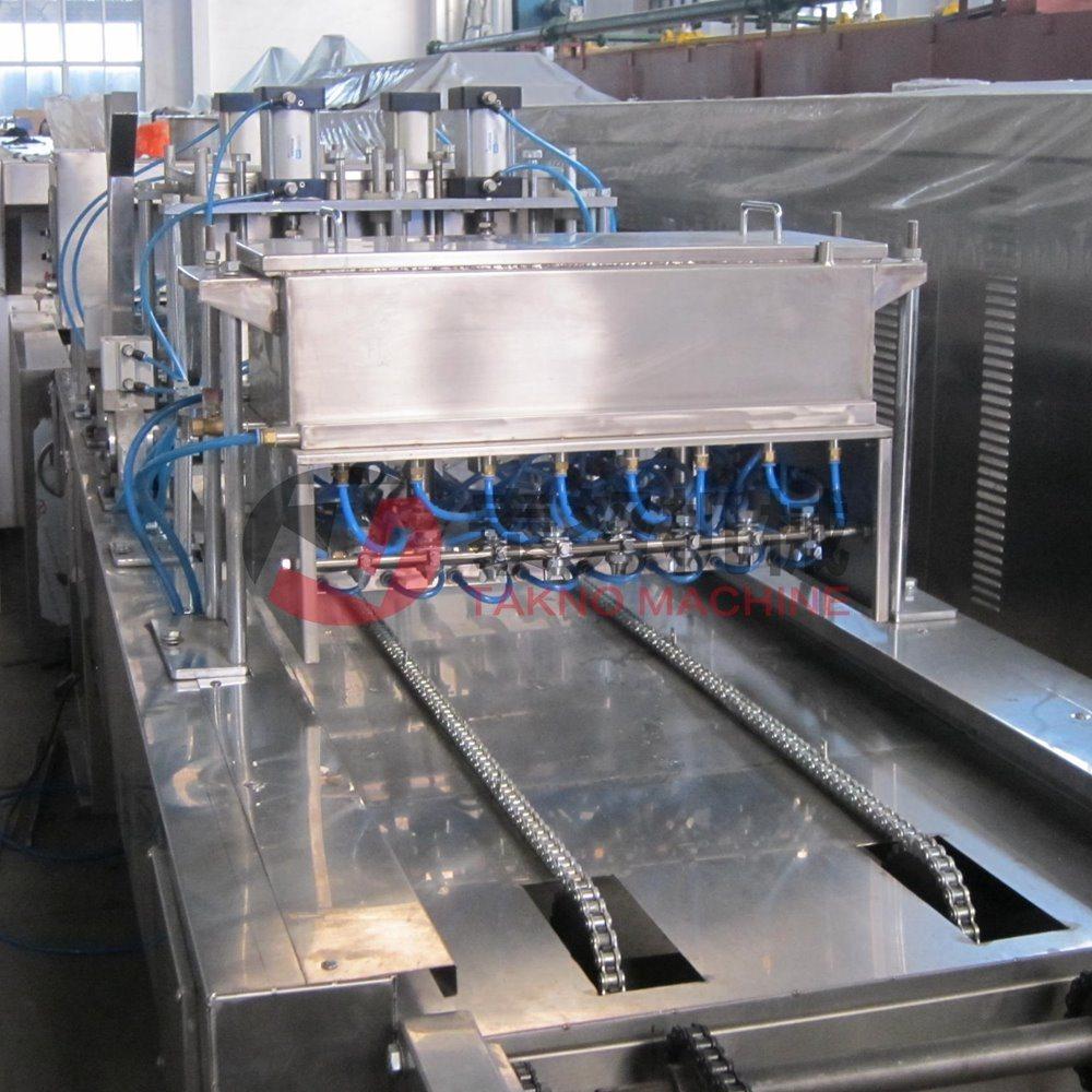 Full Automatic Custard Cup Cake Machine