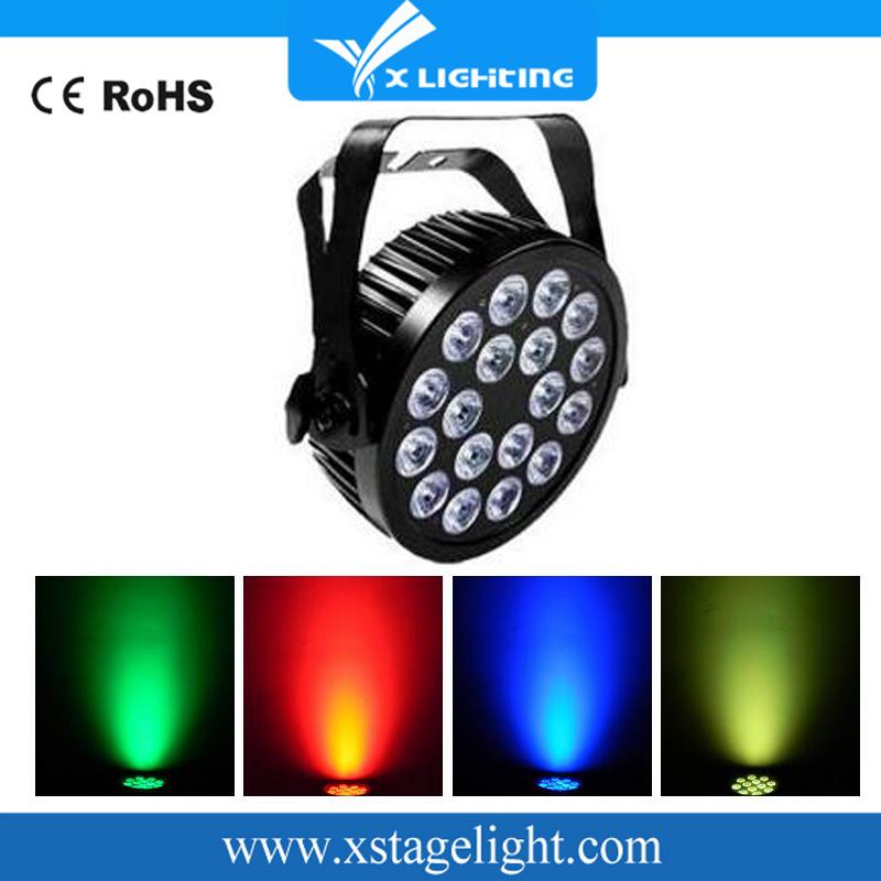 Disco LED Light Zoom 18*18W LED PAR Light (X-P1818F)
