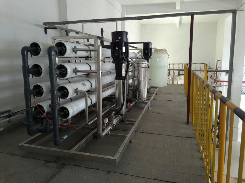 Industrial Reverse Osmosis Water Purification Machine
