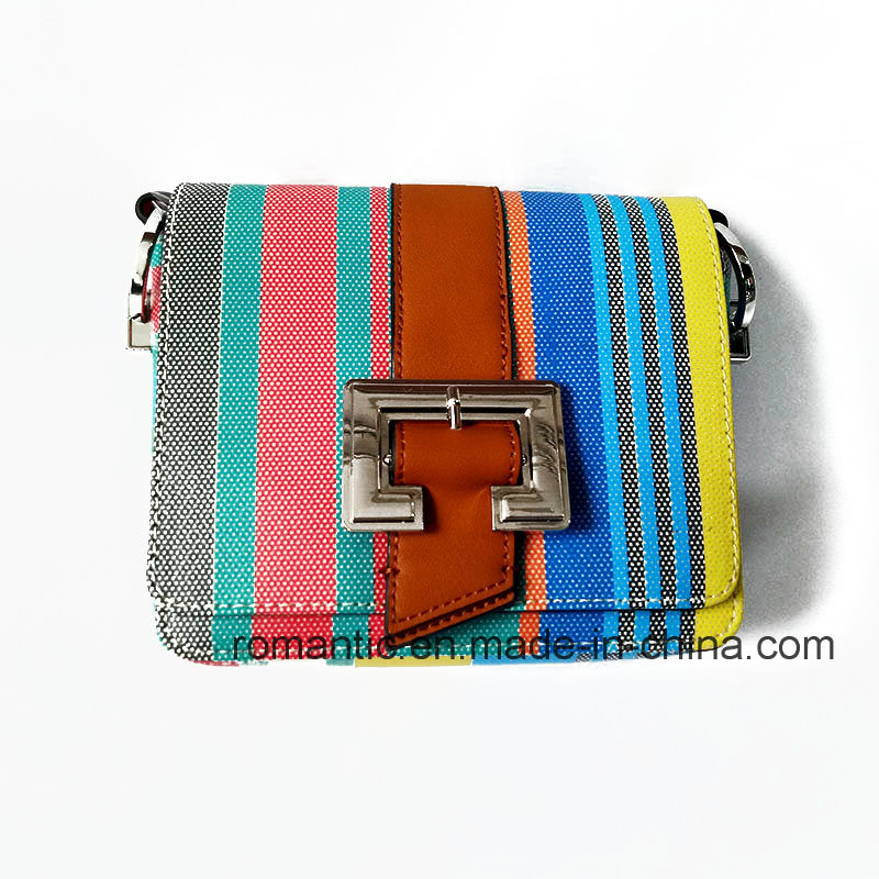 Fancy Colorful Elegant Lady PU Leather Briefcase (NMDK-032206)